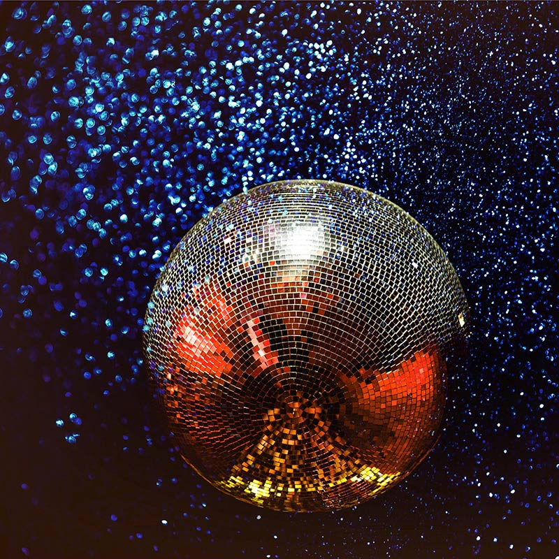 a disco ball at our pottery disco near bradford on avon, wiltshire uk