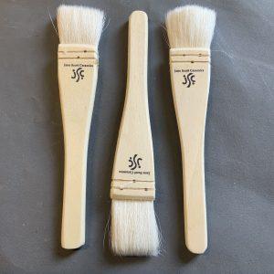 Three hake brushes for sale