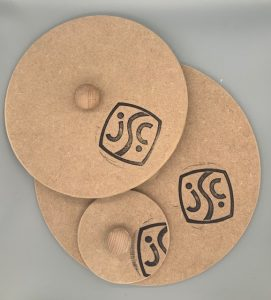 set of round plate moulds
