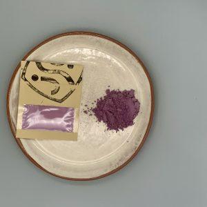25g purple ceramic pigment and purple powdered pigment