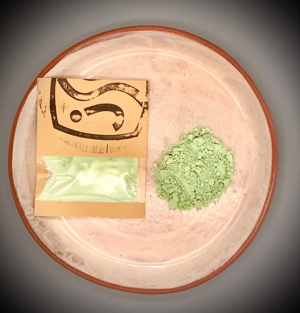 Green ceramic pigment 25g for sale