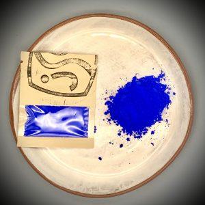 Blue ceramic pigment 25g for sale