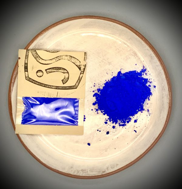 Blue ceramic pigment 25g for sale