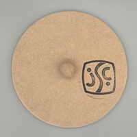 22cm round plate mould