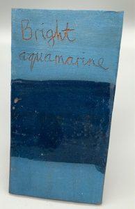 bright aquamarine decorating slip for sale