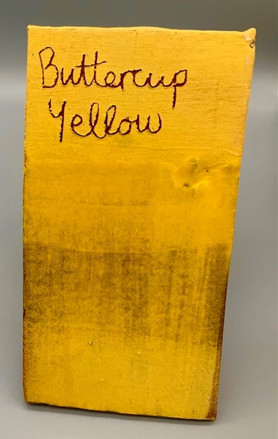 buttercup yellow decorating slip for sale