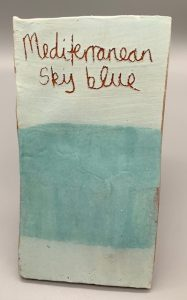 mediterranean sky blue decorating slip for sale
