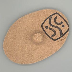 19cm x 13cm rustic oval plate mould
