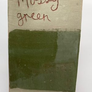 mossy green decorating slip for sale