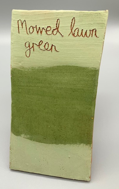 mowed lawn decorating slip for sale
