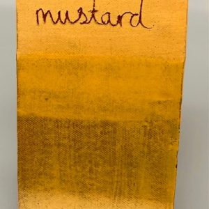 Ochre Mustard decorating slip for sale