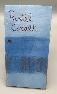Pastel cobalt decorating slip for sale