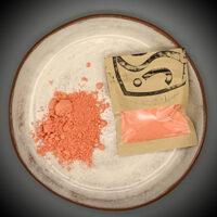 Tangerine pigment